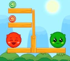 لعبة الاحمر والاخضر