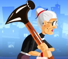 لعبة الجدة الغاضبة