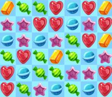 لعبة الحلويات المتشابهة