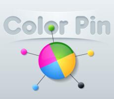 لعبة الدبابيس الملونة