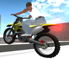 لعبة الدراجات البهلوانية