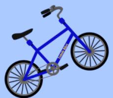 لعبة الدراجة الهوائية