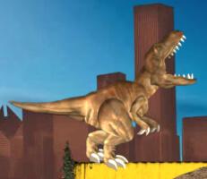 لعبة الديناصور المتوحش القوي