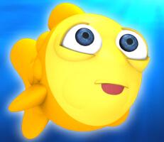 لعبة السمكة الصفراء