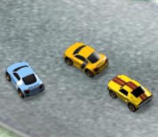 لعبة السيارات الصغيرة