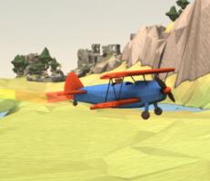 لعبة الطائرة البهلوانية