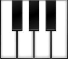 لعبة العزف على البيانو