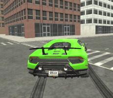لعبة القيادة في المدينة
