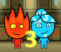لعبة الماء والنار 3