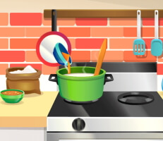 لعبة المطبخ الكوري