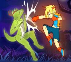 لعبة المقاتل المجنون