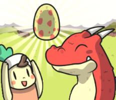 لعبة بيضة التنين