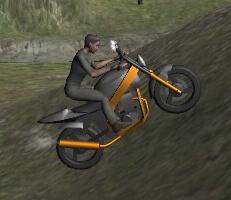 لعبة تحدي الدراجات