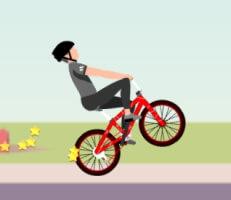 لعبة ترفيع الدراجة