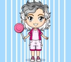 لعبة تلبيس فتاة الأنمي