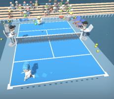 لعبة تنس