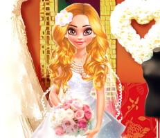 لعبة حفل زفاف نينا