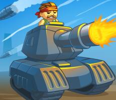لعبة حماية الدبابة