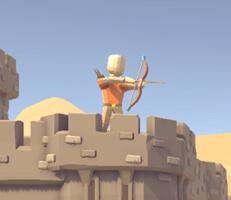 لعبة حماية القلعة من الاعداء