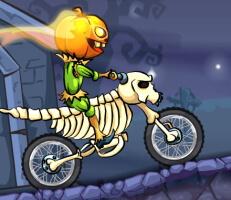 لعبة دراجات البلدة المرعبة