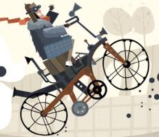 لعبة دراجات الشوارع