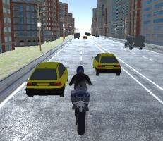 لعبة دراجات المدينة