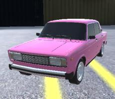 لعبة درفت السيارات القديمة