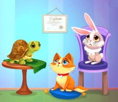 لعبة رعاية الحيوانات الأليفة