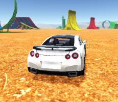 لعبة ساحة السيارات