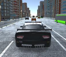 لعبة سيارات الشرطة