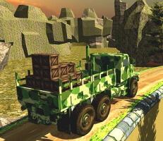 لعبة شاحنة الجيش