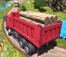 لعبة الشاحنة النقل والصناديق والبضائع