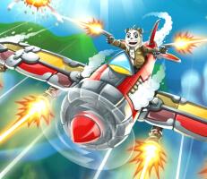 لعبة طائرة الباندا