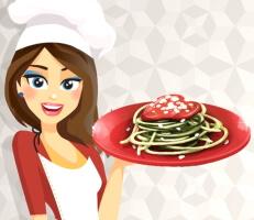 لعبة طبخ المكرونة الإيطالية
