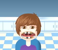 لعبة طبيب اسنان المشاهير