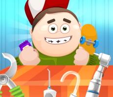 لعبة طبيب الاسنان