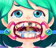 لعبة عملية جراحة الأسنان