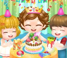لعبة عيد ميلاد الطفلة