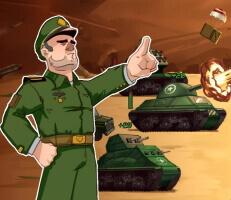 لعبة قادة الحرب