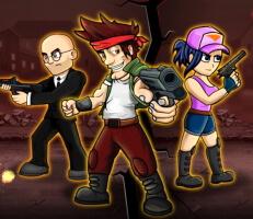 لعبة قتال الاسلحة النارية