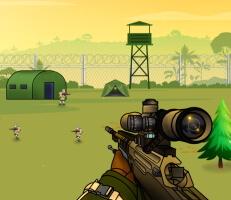 لعبة قناص القلعة