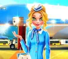 لعبة مضيفة الطيران نينا