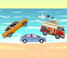 لعبة مغامرات السيارات