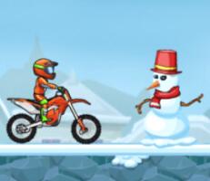 لعبة موتسكلات الشتاء