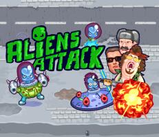لعبة هجوم الفضائيين