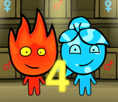 لعبة ولد النار وبنت الماء 4