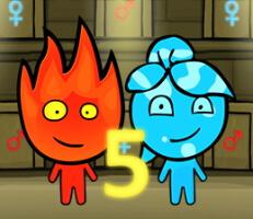 لعبة ولد النار وبنت الماء 5